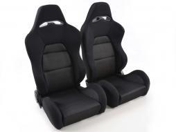 sedile sportivo coppia di sedili Edition 3 (1xsinistra/1xdestra) nero