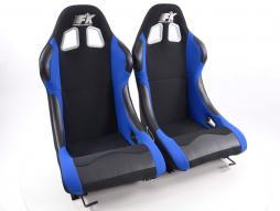 FK Sportsitze Auto Vollschalensitze Set Los Angeles in Motorsport-Optik