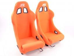 sedile sportivo coppia di sedili San Francisco (1xsinistra/1xdestra) arancione