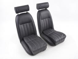 FK Classic Car seats Auto Bucket seats Set Retro-Look