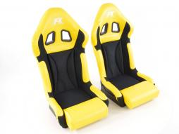 Sportseat Set Race 1 yellow/black
