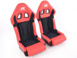 Sportseat Set Race 1 red /black