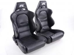 Sportseat Set Edition 1 artificial leather black