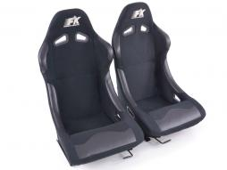 FK Sportsitze Auto Vollschalensitze Set Basic in Motorsport-Optik