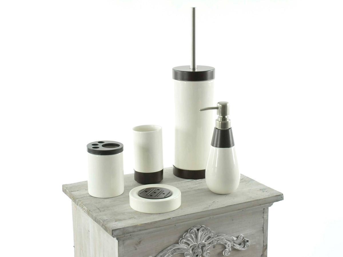 tuning shop bad set 5 tlg palm beach braun weiss. Black Bedroom Furniture Sets. Home Design Ideas
