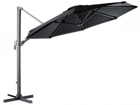 tuning shop sonnenschirm roma 3 300 cm schwarz online kaufen. Black Bedroom Furniture Sets. Home Design Ideas