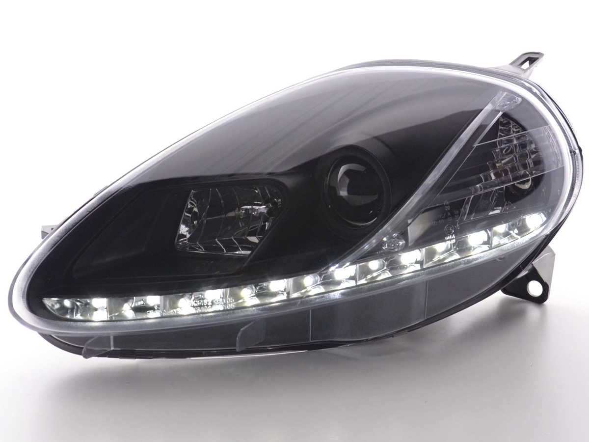 fk automotive tuning shop drl daylight headlight fiat. Black Bedroom Furniture Sets. Home Design Ideas