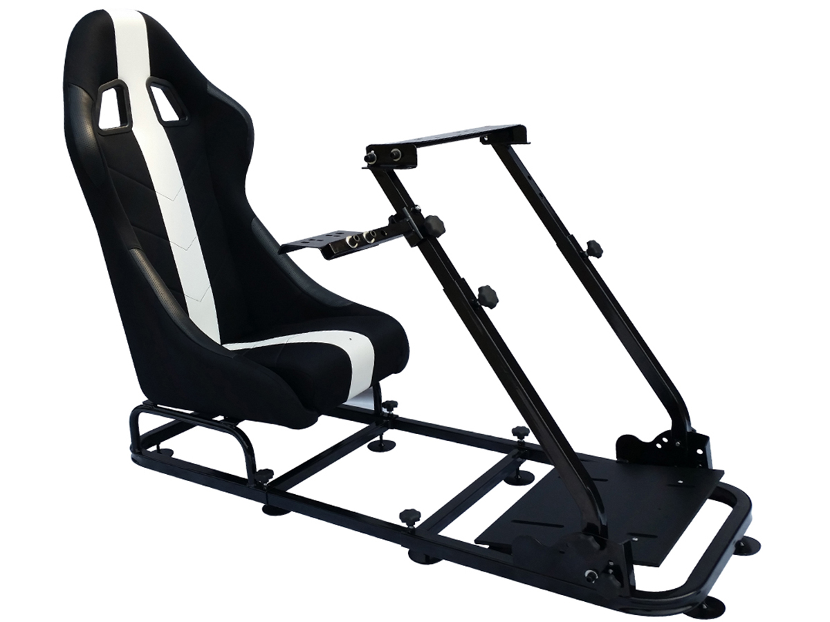 tuning shop siege de jeu pour pc et consoles de jeux mat riel noir blanc online acheter. Black Bedroom Furniture Sets. Home Design Ideas