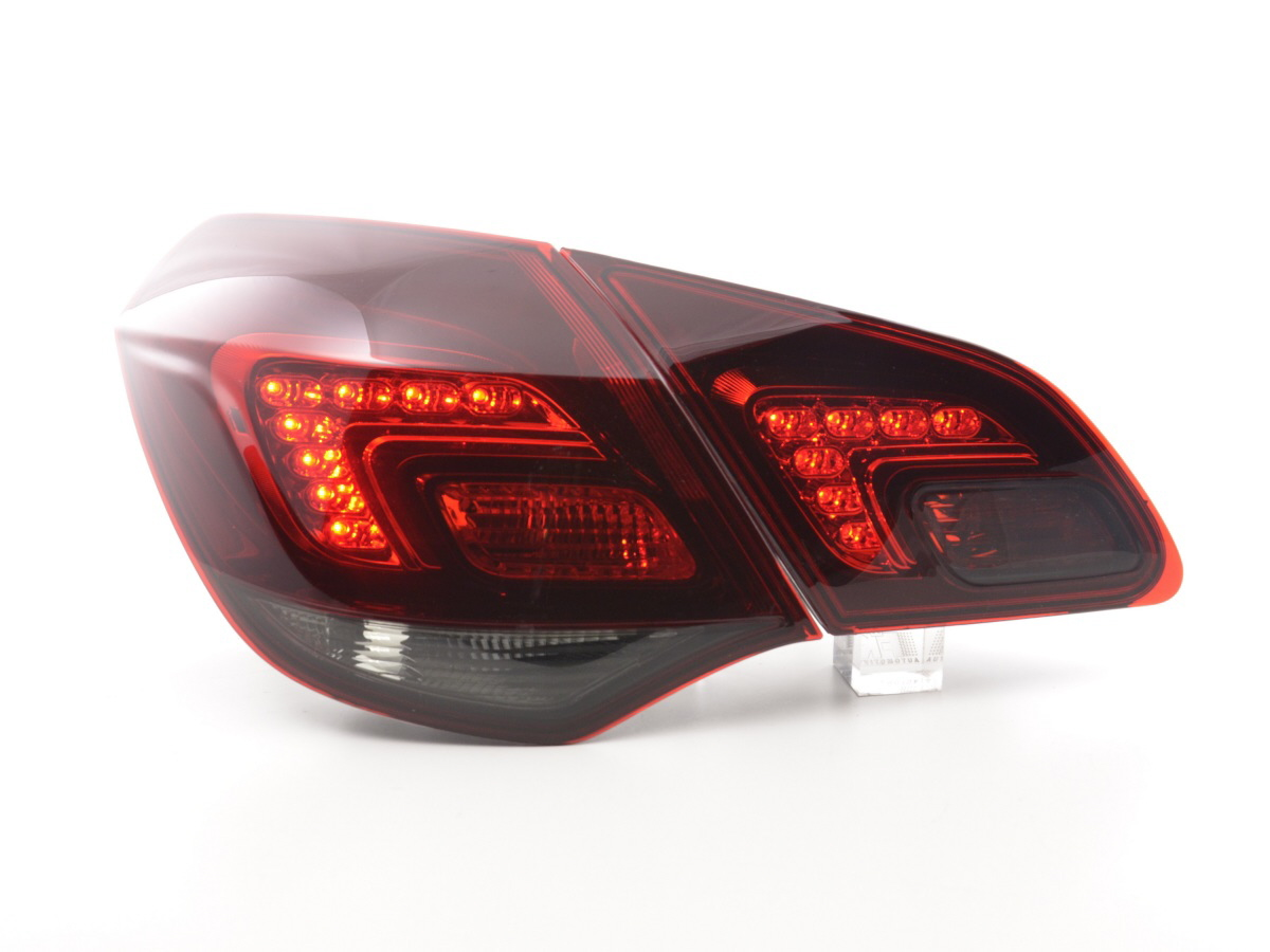 tuning shop feux arriere led opel astra j an 10 rouge noir online acheter. Black Bedroom Furniture Sets. Home Design Ideas