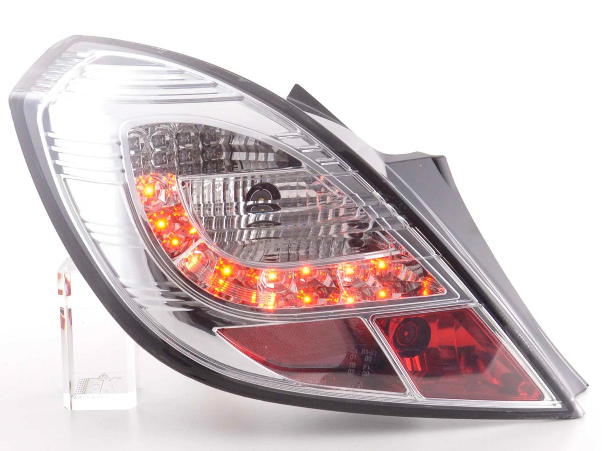 Tuning Shop | fanali posteriori LED Opel Corsa D 3 porte anno di costr
