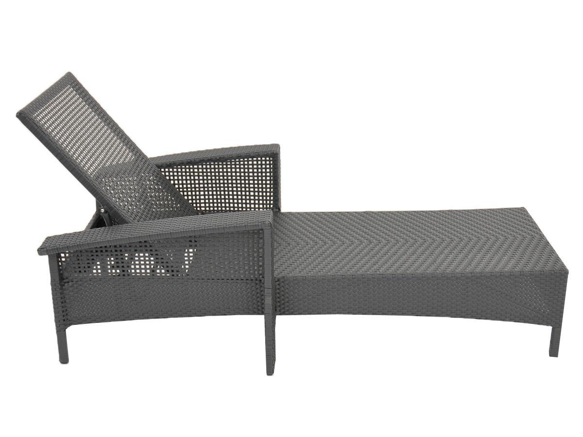 tuning shop sonnenliege loungeliege liege aus polyrattan verstellbar online kaufen. Black Bedroom Furniture Sets. Home Design Ideas