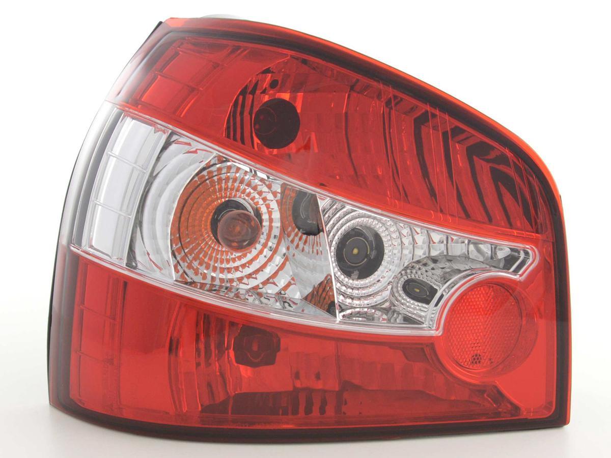 lights rear Audi A3 typ 8L year of costr. 96-00, rojo/clear