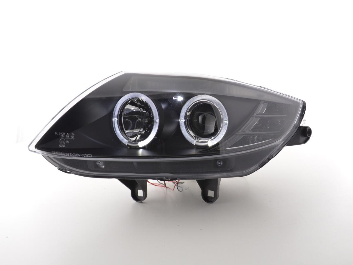 tuning shop scheinwerfer bmw z4 typ e85 e86 bj 03 08 schwarz online kaufen. Black Bedroom Furniture Sets. Home Design Ideas