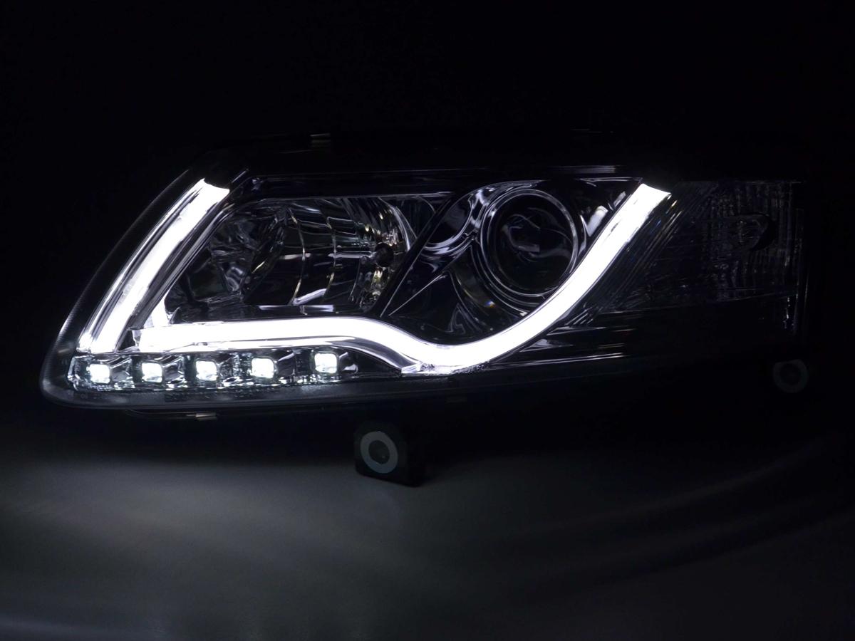 Tuning Shop Scheinwerfer Daylight Set Mit Tagfahrlicht