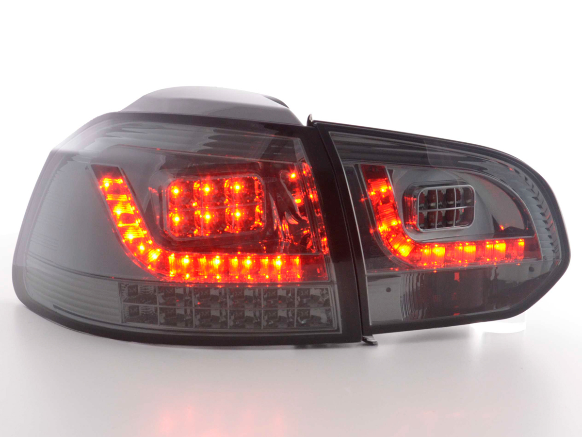 tuning shop led r ckleuchten vw golf 6 typ 1k bj 2008. Black Bedroom Furniture Sets. Home Design Ideas