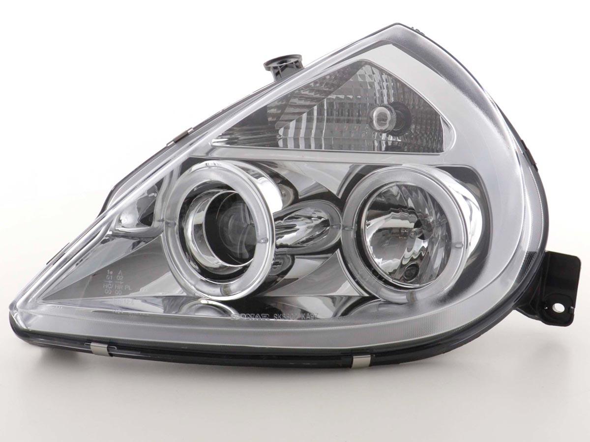 tuning shop phares angel eyes pour ford ka type rbt an. Black Bedroom Furniture Sets. Home Design Ideas