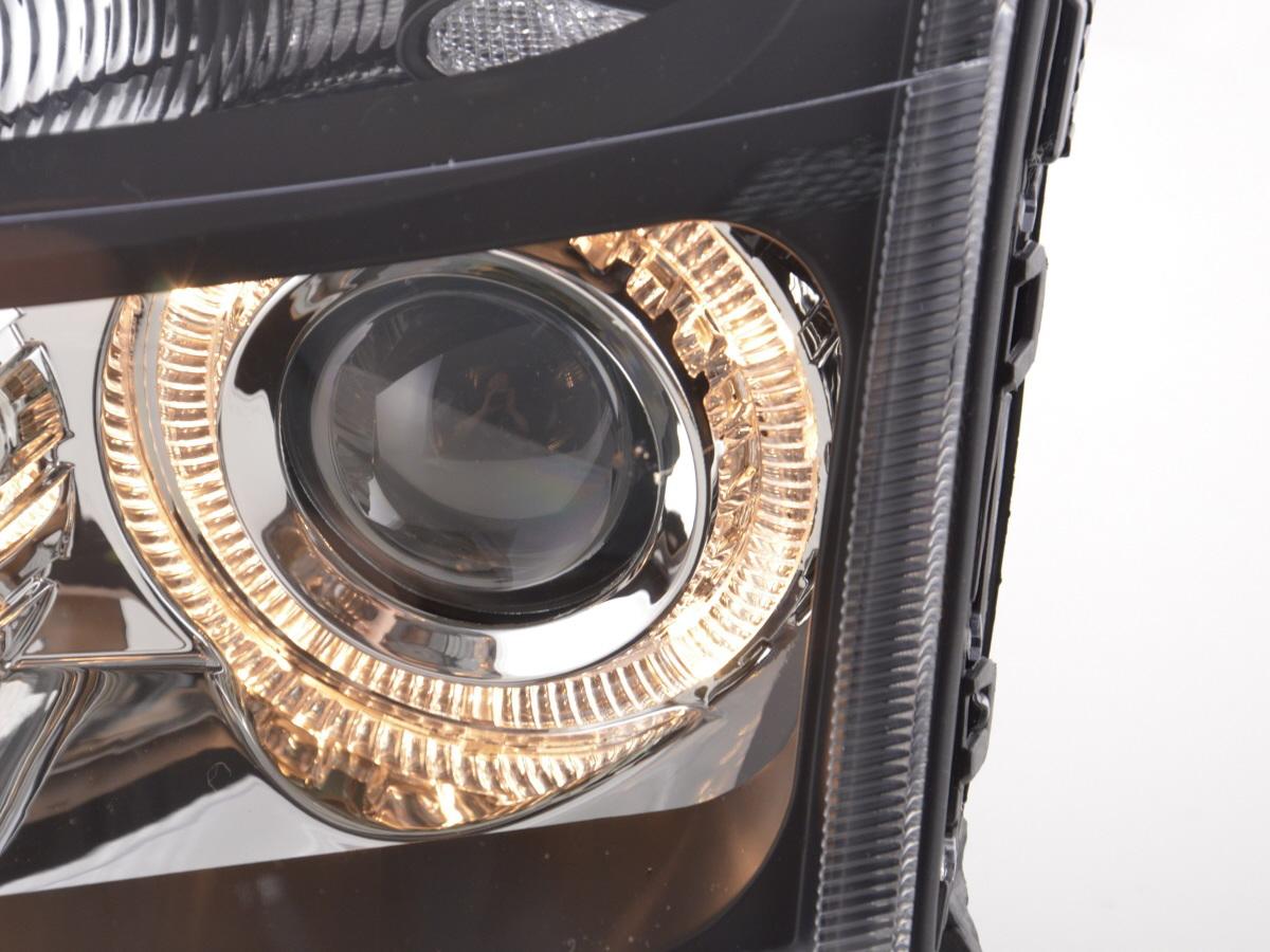 tuning shop scheinwerfer angel eyes opel vectra c bj 02. Black Bedroom Furniture Sets. Home Design Ideas
