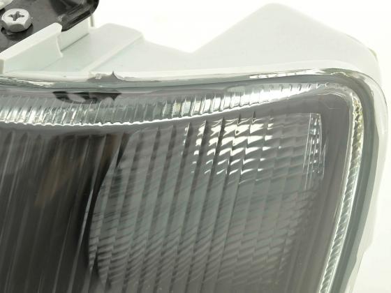 Schwarze Scheinwerfer - Ford Escort / Ford Orion